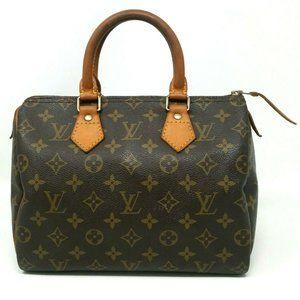 Louis Vuitton Speedy 25 Monogram Boston Bag